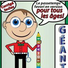 Les Dictomanie Géant 1, 2, 3, 4 et «Méninges Au Boulot!»