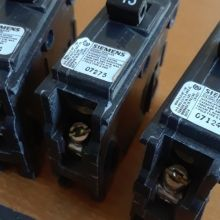 Siemens 15A 1 Pole 120V Type Q Breaker