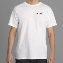T-shirt en coton épais imprimé à l'encre HDMC Fruit of the L