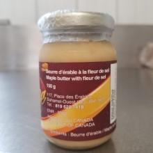 Beurre d'érable à la Fleur de sel