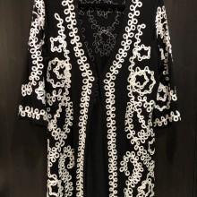 Veste tunique en coton