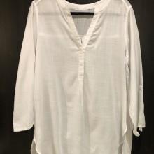Chemise blanche très légère